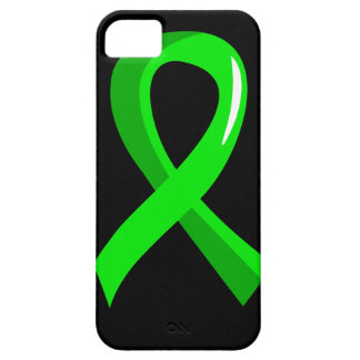 Lymphoma Lime Green Ribbon 3 iPhone 5 Covers