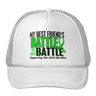Lymphoma My Battle Too 1 Best Friend (Female) Trucker Hat