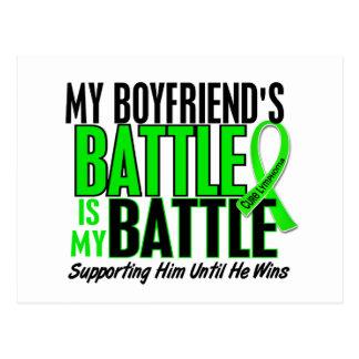 Lymphoma My Battle Too 1 Boyfriend Postcard