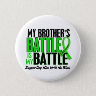 Lymphoma My Battle Too 1 Brother 6 Cm Round Badge