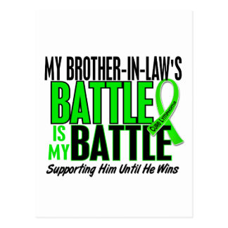 Lymphoma My Battle Too 1 Brother-In-Law Postcard