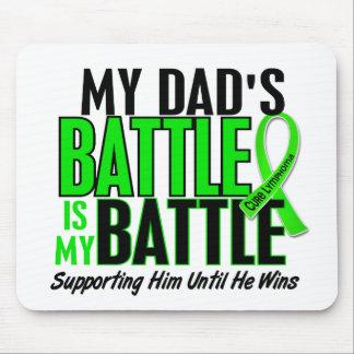 Lymphoma My Battle Too 1 Dad Mouse Mat