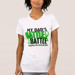Lymphoma My Battle Too 1 Dad Tshirt