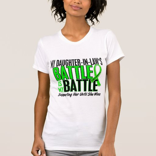 Lymphoma My Battle Too 1 Daughter-In-Law Tank Top
