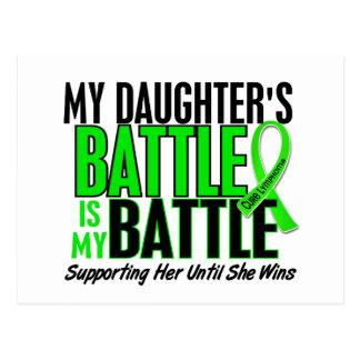 Lymphoma My Battle Too 1 Daughter Postcard