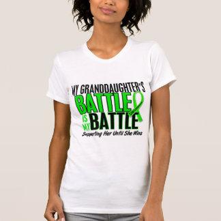 Lymphoma My Battle Too 1 Granddaughter T Shirt