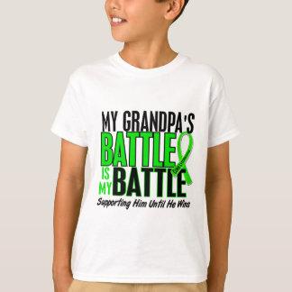Lymphoma My Battle Too 1 Grandpa T Shirts
