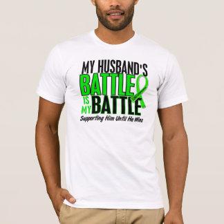 Lymphoma My Battle Too 1 Husband T-Shirt