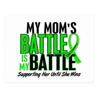 Lymphoma My Battle Too 1 Mom Post Card