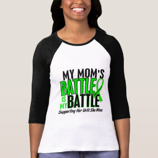 Lymphoma My Battle Too 1 Mom Tee Shirt