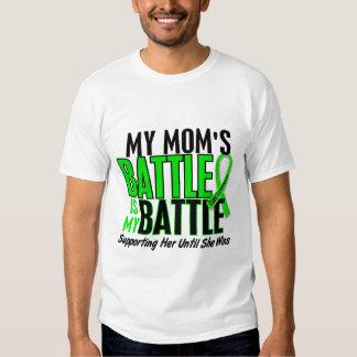 Lymphoma My Battle Too 1 Mom Tshirts
