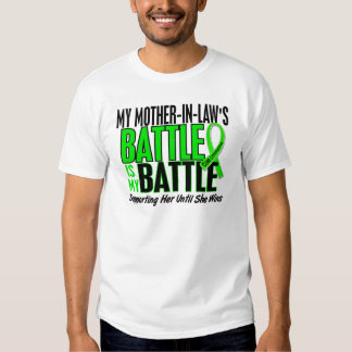 Lymphoma My Battle Too 1 Mother-In-Law T Shirts