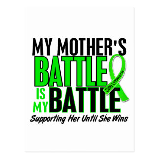 Lymphoma My Battle Too 1 Mother Postcard