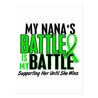 Lymphoma My Battle Too 1 Nana Postcard