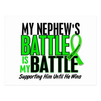 Lymphoma My Battle Too 1 Nephew Postcard