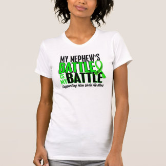 Lymphoma My Battle Too 1 Nephew T-Shirt