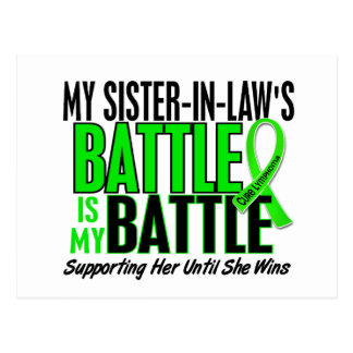 Lymphoma My Battle Too 1 Sister-In-Law Postcard