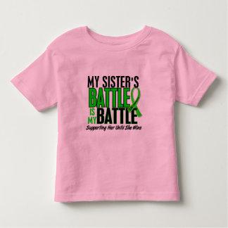 Lymphoma My Battle Too 1 Sister Toddler T-Shirt