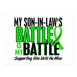 Lymphoma My Battle Too 1 Son-In-Law Postcard