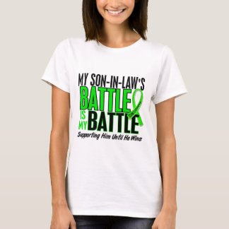 Lymphoma My Battle Too 1 Son-In-Law T-Shirt