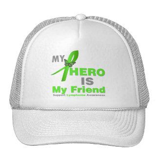 Lymphoma My Hero is My Friend Hat