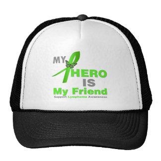 Lymphoma My Hero is My Friend Hats