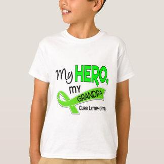 Lymphoma MY HERO MY GRANDPA 42 Shirt