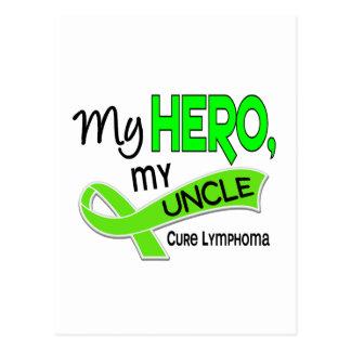 Lymphoma MY HERO MY UNCLE 42 Postcard