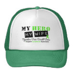 LYMPHOMA My Hero My Wife We Will Win Cap