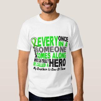 Lymphoma Non-Hodgkins HERO COMES ALONG 1 Brother T-shirts