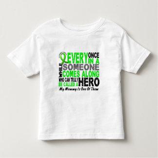 Lymphoma Non-Hodgkins HERO COMES ALONG 1 Mommy T Shirts
