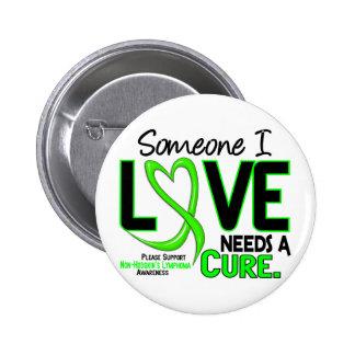 Lymphoma NonHodgkins NEEDS A CURE 2 6 Cm Round Badge