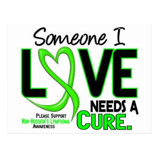 Lymphoma NonHodgkins NEEDS A CURE 2 Postcard