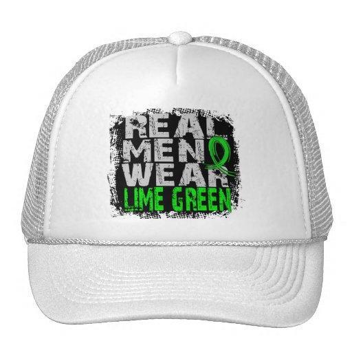 Lymphoma Real Men Wear Lime Green Hat