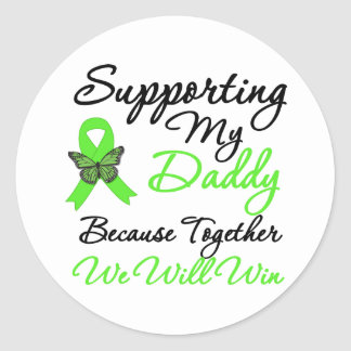 Lymphoma Support (Daddy) Sticker