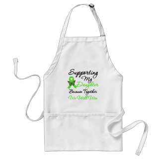 Lymphoma Support Daughter Apron
