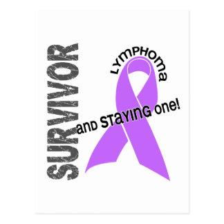 Lymphoma Survivor Postcard