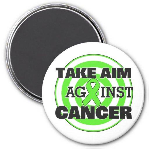Lymphoma Take Aim Against Cancer Fridge Magnets