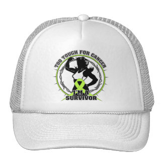 Lymphoma Too Tough For Cancer Trucker Hat