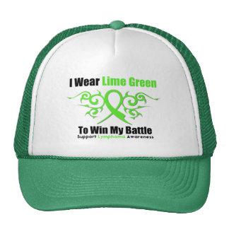 Lymphoma Tribal Ribbon To Win My Battle Hats