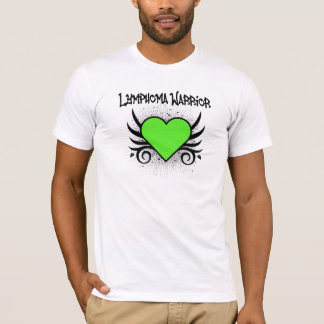 Lymphoma Warrior Heart T-Shirt