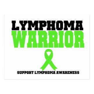Lymphoma Warrior Postcard