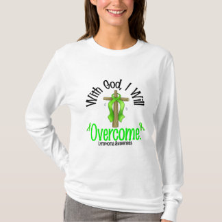 Lymphoma With God I Will Overcome T-Shirt