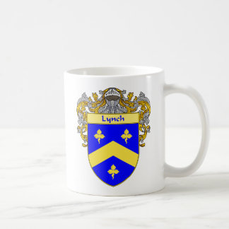 Lynch Coat of Arms (Mantled) Coffee Mug