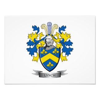 Lynch Coat of Arms Photo Print