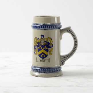 Lynch Coat of Arms Stein / Lynch Family Crest Mug