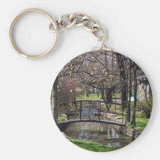 Lynchburg TN limestone creek Basic Round Button Key Ring