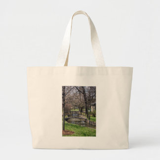 Lynchburg TN limestone creek Large Tote Bag