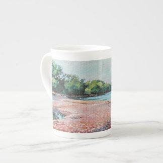 Lynde Creek Mouth - bone china mug