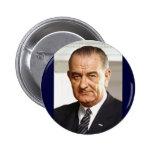 Lyndon B. Johnson 36th President Button
